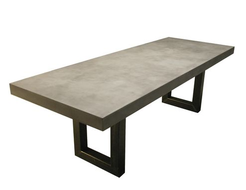 Custom Made Zen Concrete Table