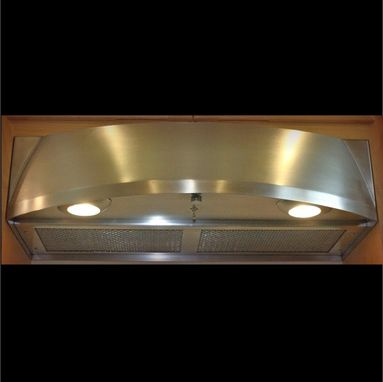 Custom Made Stainless Steel Range Hood