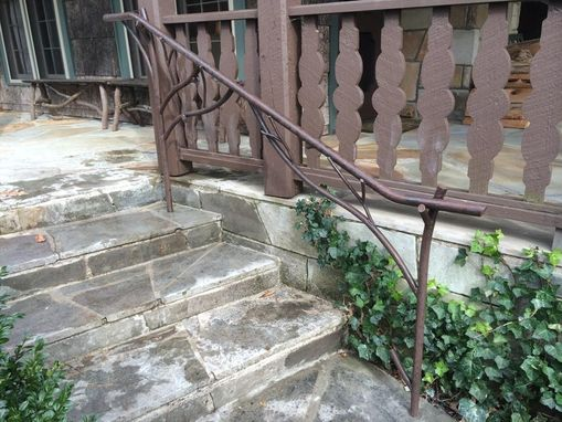 Custom Made Tree Branch Outdoor Railing