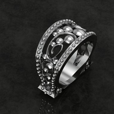 Custom Made Ladies Ornate Fashion Ring