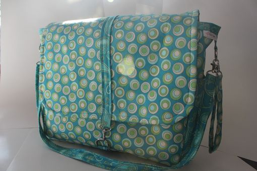 Custom Made Messenger Bag With Deluxe Changing Pad