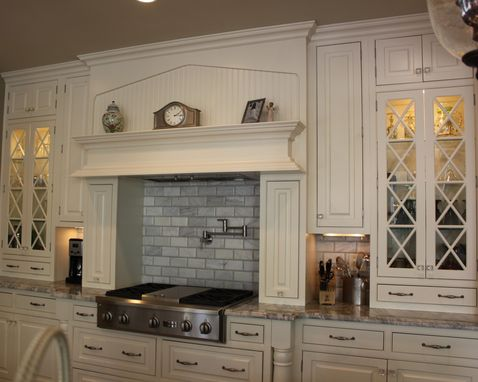 Custom Made All White Kitchen