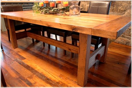 Custom Made Reclaimed Farmhouse Table