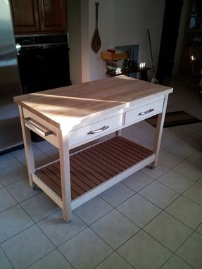 Custom Made Cart/Island/Worktable