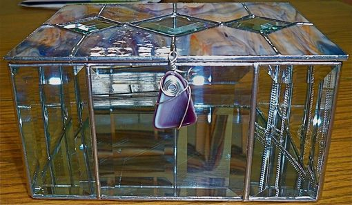 Custom Made Large, Deep Stained Glass Display Box