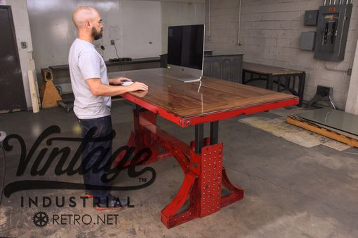 Custom Made Bronx Sit Stand Desk