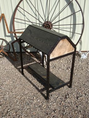 Custom Made Trophy Saddle Stand