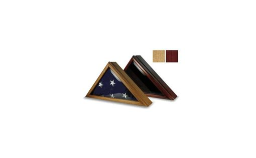 Custom Made Commanders Flag Display Case Fit 3ft X 5ft Flag