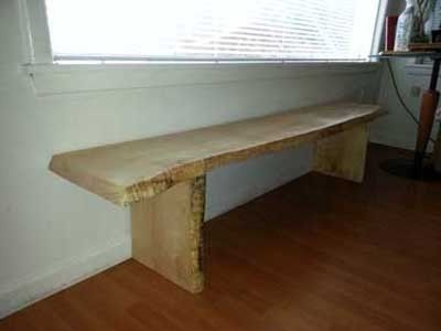 Custom Made Mantel Bench