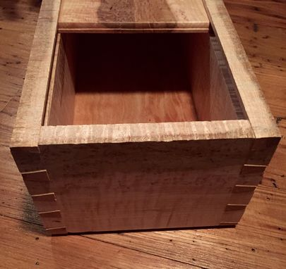 Custom Made Salvaged Maple Box
