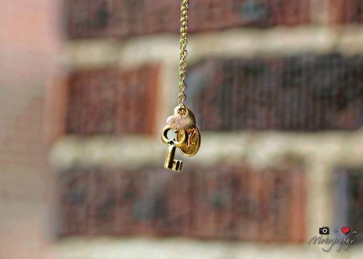 Custom Made Sale My Heart Belongs To New York Necklace In Gold, Ready To Ship