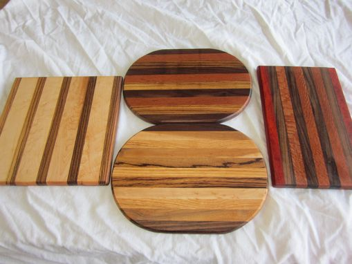 Custom Made Exotic Cutting Boards