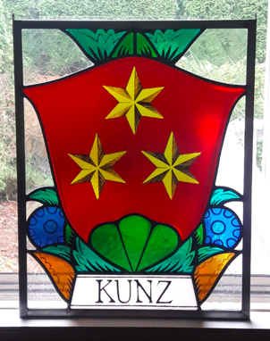 Custom Made Kunz Family Crest