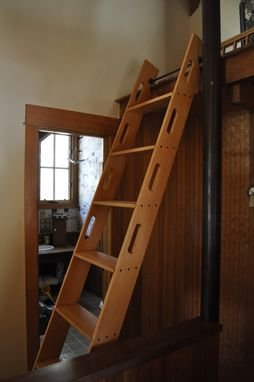 Custom Made Attic Access Ladder