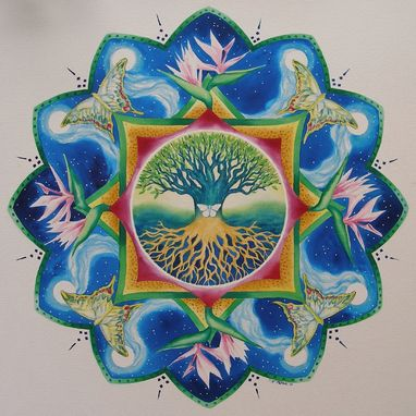 Custom Made Personal Mandala Painting For Sue