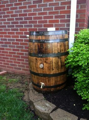 Custom Made Bourbon Barrel Rain Barrel