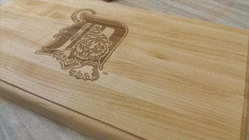 Custom Made Laser Engraved Maple Cutting Board