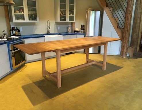 Custom Made Ashley Farmhouse Extension Dining Table