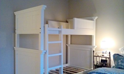 Custom Made Farm House Bunk Bed