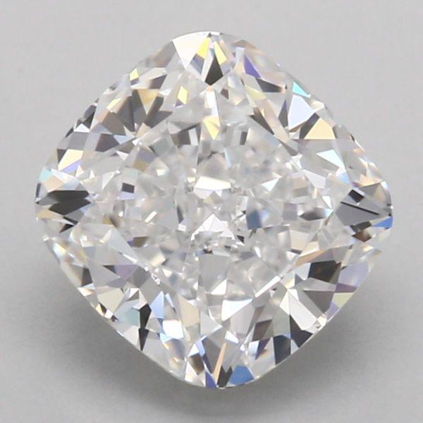 D Color Cushion Cut Diamond