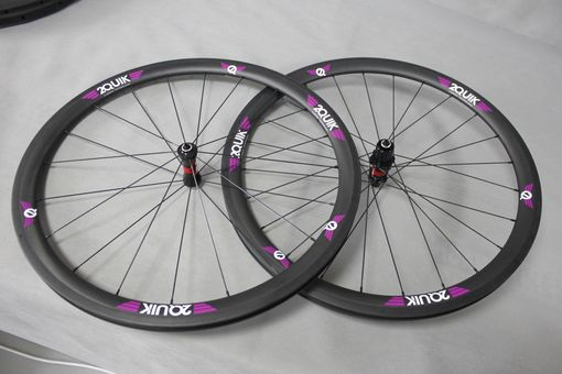Custom Made 40mm Carbon Road Wheelset