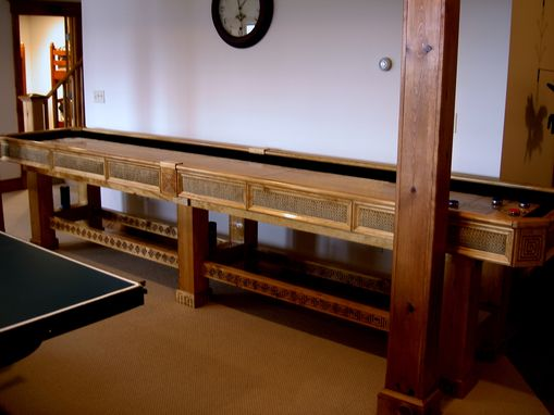 Custom Made Shuffleboard Table