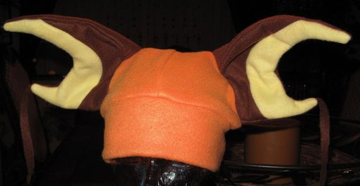 Custom Made Pokemon Raichu Ear Fleece Hat In 6 Sizes