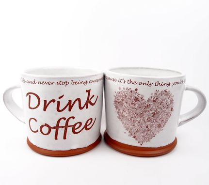 Custom Made Custom Coffee Mugs For Valentine