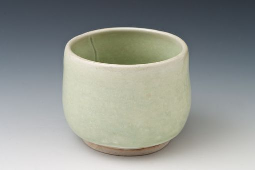 Custom Made Jade Green Tea Bowl