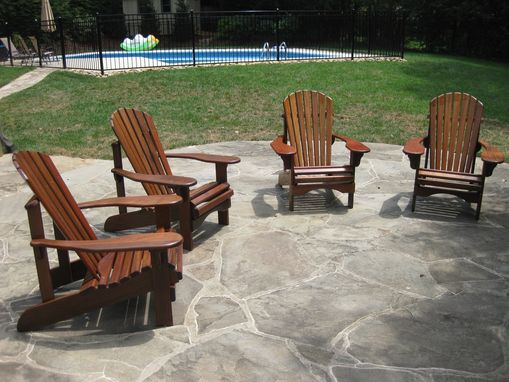 Custom Made Muskoka Lake Style Deck Chairs