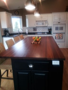 Custom Made Jatoba Center Island