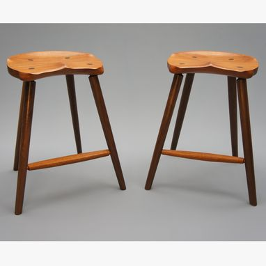 Buy A Custom Made Saddle Seat Bar Stool Counter Height