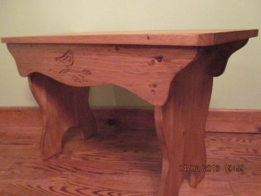 Custom Made Carly, The Coffee Table Or Wood Bench
