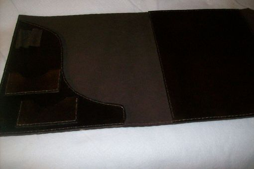 Custom Made Custom Leather Notebook Cover/Portfolio
