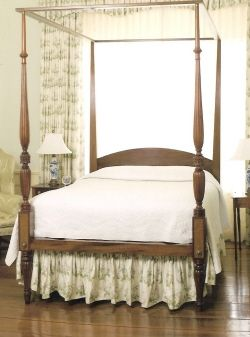 Hand Crafted Federal Style Four Poster Bed By Cornerstone