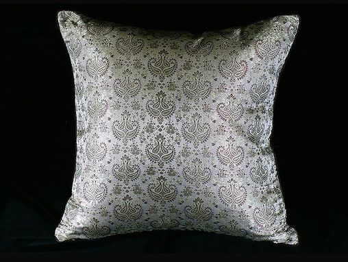 Custom Made Chateau: Paisley Pillow
