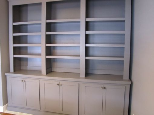 Custom Made Bookcase Hutch