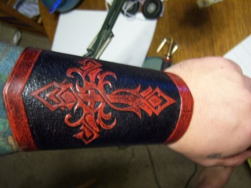 Custom Made Double Cross Bracers Deluxe These Have All The Options On Them!