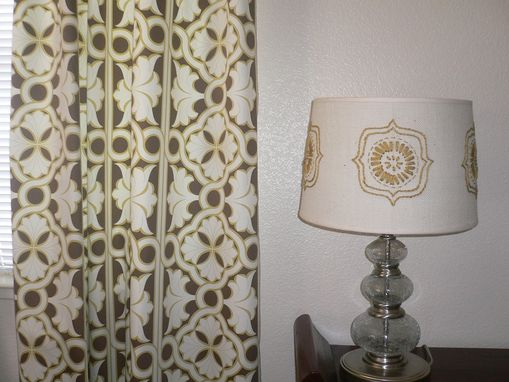 Custom Made Custom Embroidered Lamp Shades