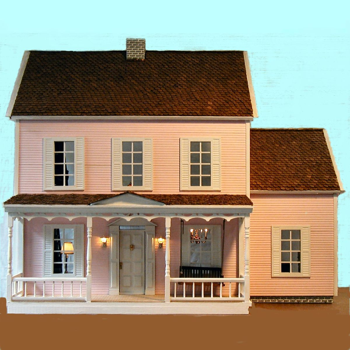 Custom Made Dollhouse By Rtw Woodcraft Custommade Com