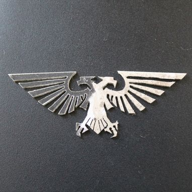 Custom Made Two-Headed Eagle Pendant