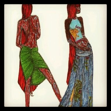 Custom Made Fashion Illustrations, Sketches, Apparel And Shoe Design