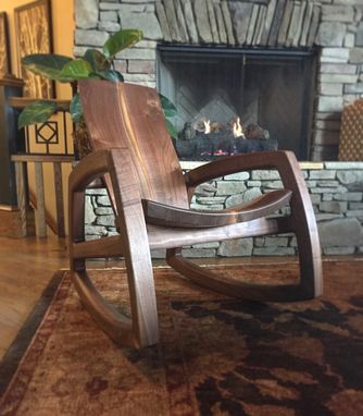 Custom Made Cascade Rocking Chair