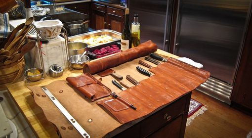 Custom Made Chef's Knife Roll