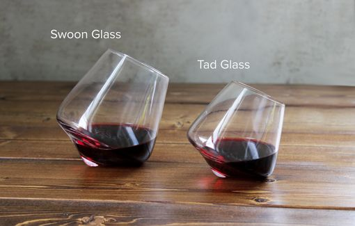 Custom Made Tad Revolving Wine Glass Pair