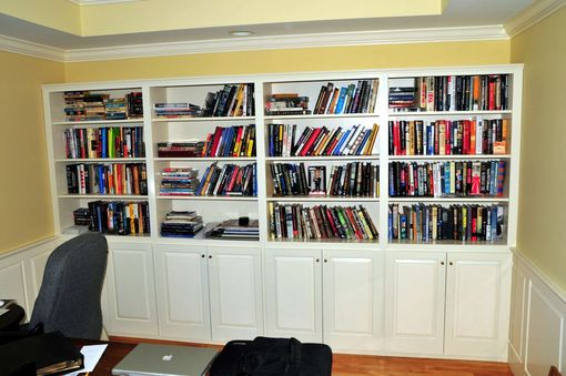 Custom Made Office Bookcase
