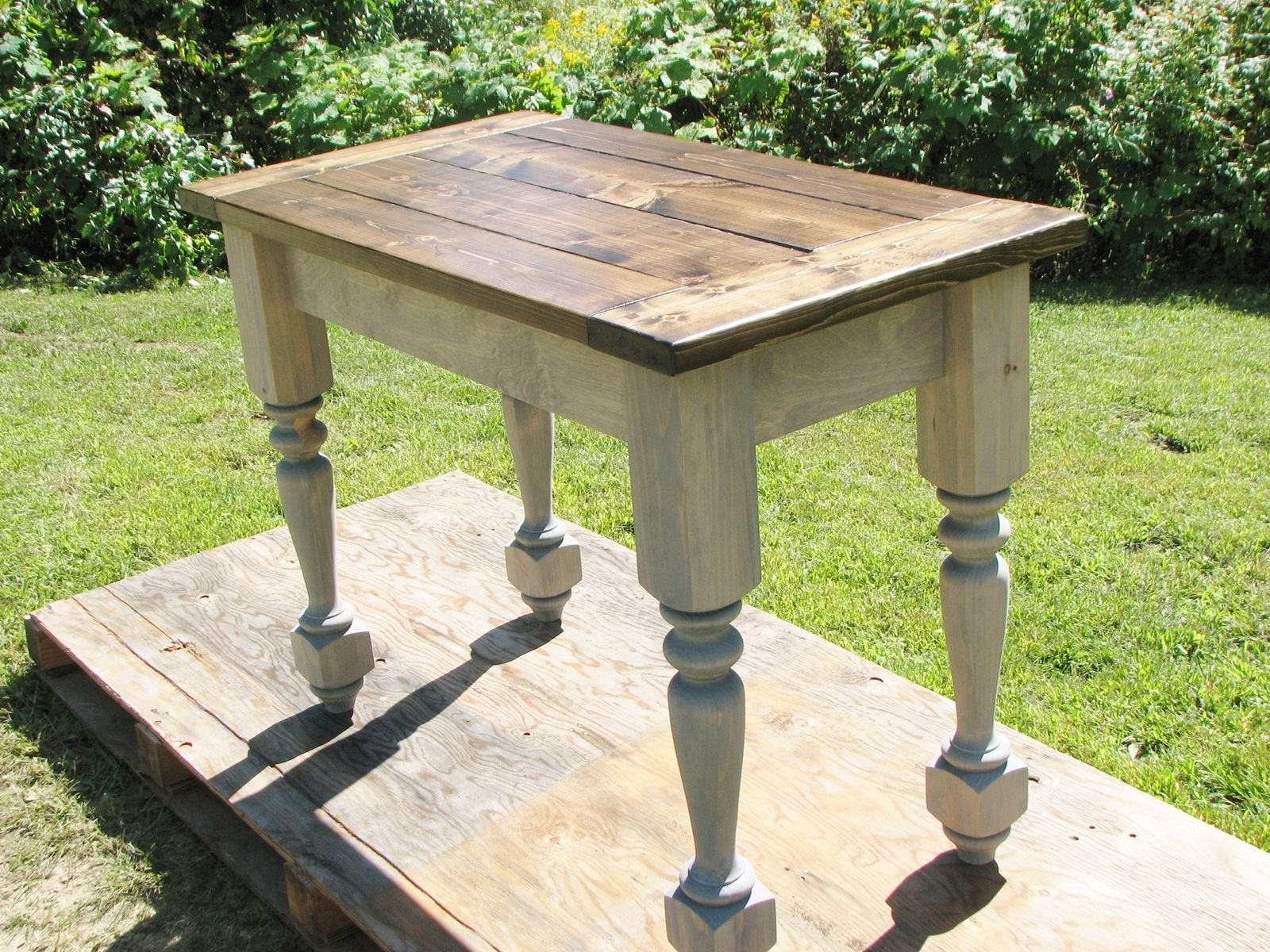 buy a custom turned legs kitchen island made to order from custom
