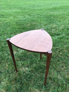 Custom Made Triangular Side Table