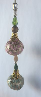 Custom Made Green Pink Brocade Fabric Balls,Gold Silver Copper Velvet Beads