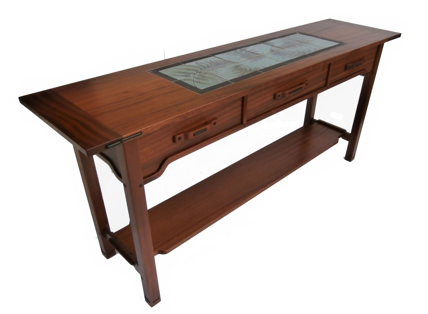 Custom Greene And Greene Hall Table by Brian Brace Fine Furniture